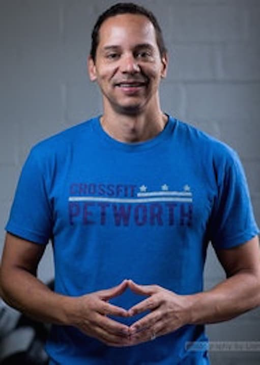 Lieven DeGeyndt in Petworth - CrossFit Petworth