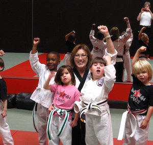 Jana Easter in Gainesville and Flowery Branch  - Rock Solid Karate