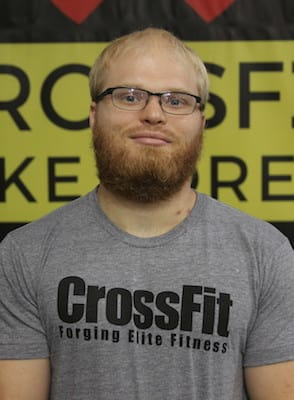 Filip Pindral in  Lake Forest - CrossFit Lake Forest