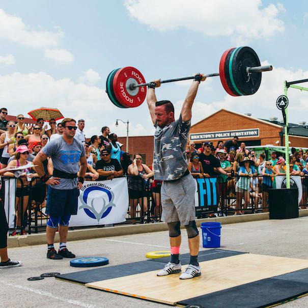 CALEB TOEWS in Tulsa - Okie CrossFit