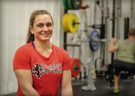 Caitlin Baker in State College - CrossFit Nittany