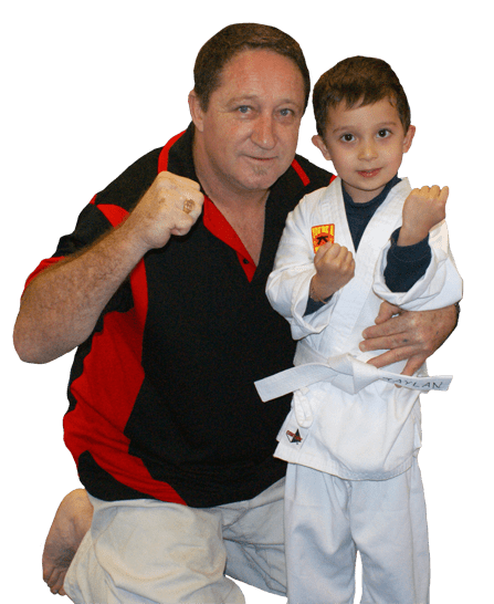 Kyoshi Bill Wakefield in Combined Martial Arts Academy Nerang