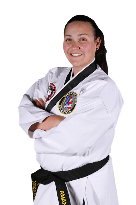 Amanda Nevels in Coppell - Coppell Taekwondo Academy