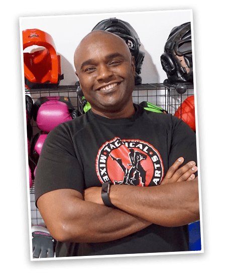 Tony Jones in Tactical Mixed Martial Arts