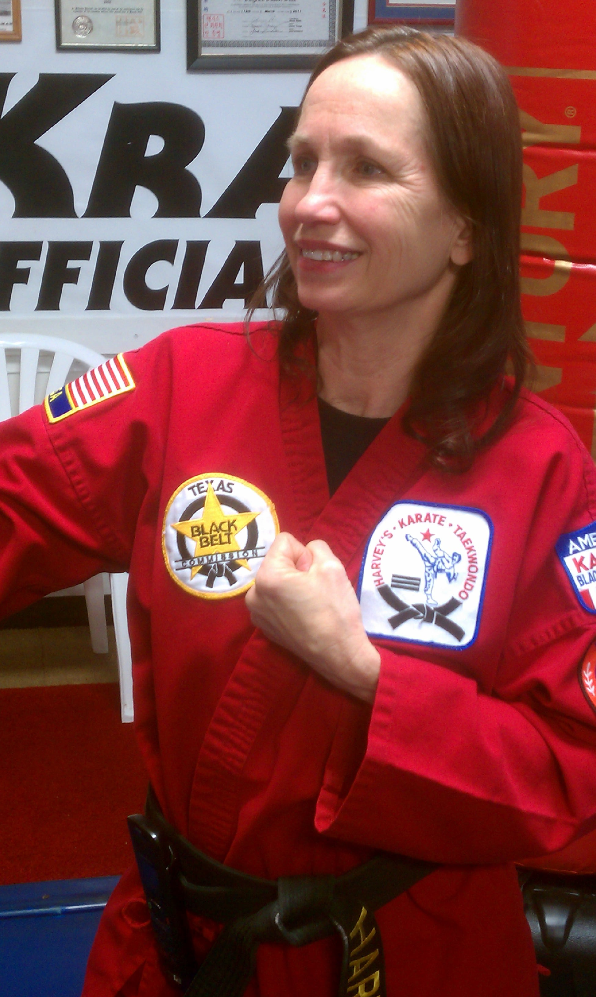 Barbara Harvey in Amarillo - Harvey's Karate & Fitness