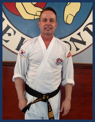 Master Marc Austin Highfill in Richmond - Dong's Karate