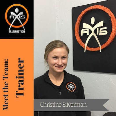 Christine Silverman in Gainesville - Axis Training Studio