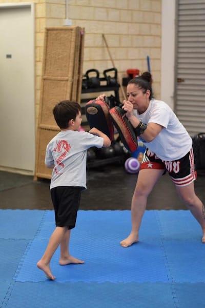 Kelly Maiolo in Mandurah - XL Martial Arts Academy