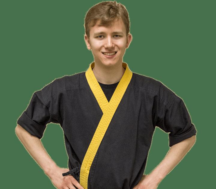 Matthew Drain in Norton - Personal Best Karate