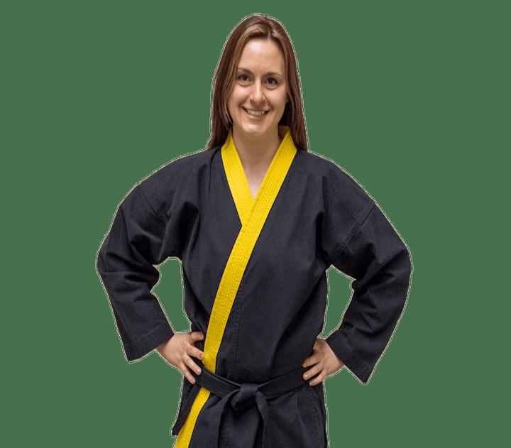 Jaime Mabee in Norton - Personal Best Karate