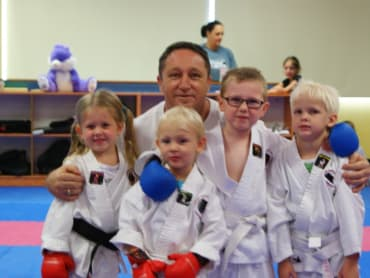 Kids Martial Arts in Combined Martial Arts Academy Nerang