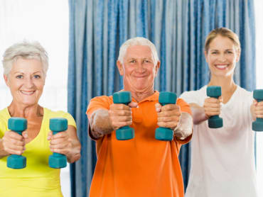 Senior Fitness Classes in Custom Bodies Fitness