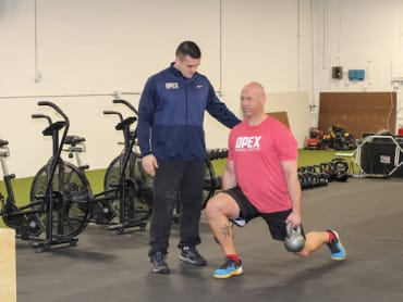 Personal Training in OPEX Upper Main Line