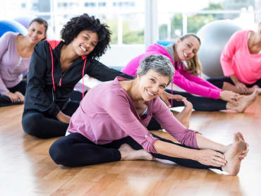 Group Fitness in Northridge Health Performance Centre