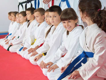 Kids Martial Arts in The Dojo Of Karate