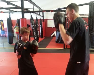 Kids Martial Arts Kids Martial Arts in Greenville - Fearless Fighting