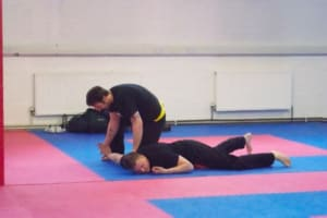 students in jiu jitsu  in Ipswich - Blackwell Academy