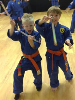 students in kids karate  in Lakewood - Denver Karate Academy