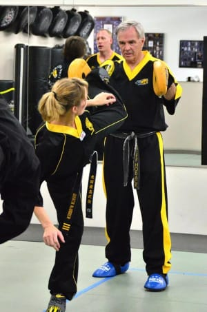 students in fitness kickboxing  in Arvada - America's Best Martial Arts