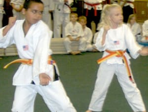 students in kids martial arts  in Bradenton - Ancient Ways Martial Arts Academy