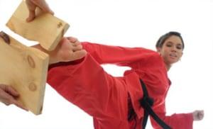 students in kids karate  in Great Yarmouth - East Coast Black Belt School