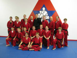 students in adult martial arts  in Brookfield - Karate America