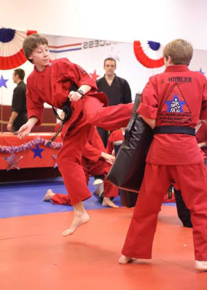 students in after school  in Brookfield - Karate America