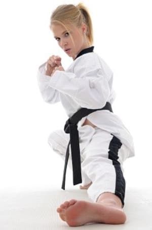 students in fitness and self defense  in San Bruno - Lawler's Tae Kwon Do