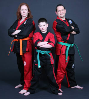 students in family martial arts  in Woodbridge - Life Champ Martial Arts