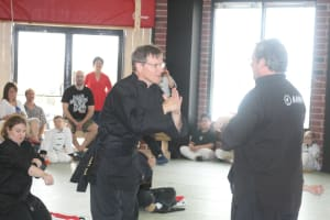 students in adult martial arts  in Bellevue - American Academies of Martial Arts