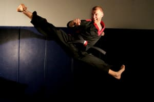 students in teen and adult martial arts at World Champion Karate