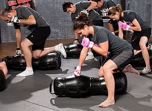 students in cage fitness™ in Oakleigh - Challenge Fitness Centre