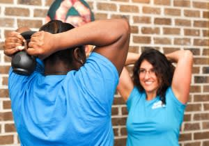 students in personal training in North Charleston - reFORM Studios