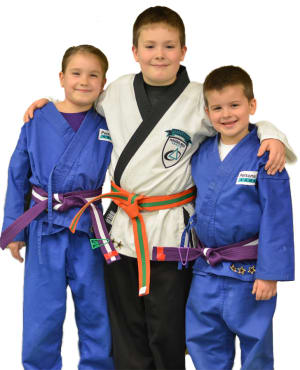 students in kids martial arts at Personal Best Karate