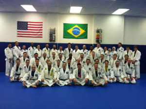 students in adult jiu jitsu  in Berlin - South Jersey Jiu Jitsu