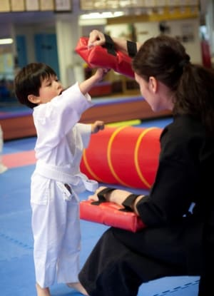 students in kids karate  in Bethesda - Polander Academy Of Martial Arts
