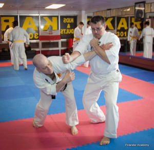 students in adult karate  in Bethesda - Polander Academy Of Martial Arts