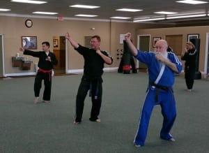 students in adult martial arts  in Bradenton - Ancient Ways Martial Arts Academy