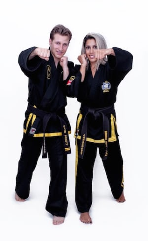 students in adult self defence  in Kingston - Adapt Choi Kwang Do