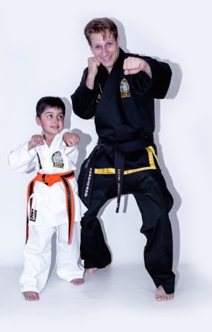 students in kids martial arts  in Kingston - Adapt Choi Kwang Do