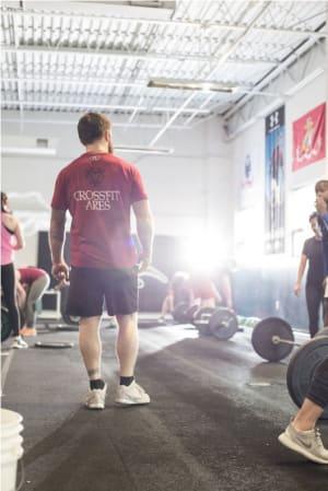 students in crossfit in Wilmington - CrossFit Ares