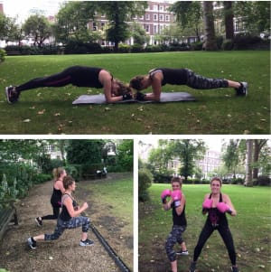 students in semi private training in Clapham - Eat Move Live Better