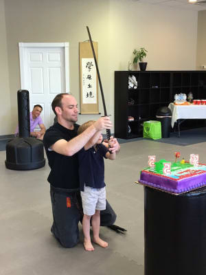 students in birthday parties  in Alpharetta - Crabapple Martial Arts Academy