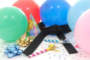 students in birthday parties  in Longmont - Tran's Martial Arts & Fitness Center