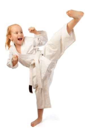 students in kids karate  in Gaithersburg - US Martial Arts and Fitness
