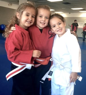 students in kids martial arts in Springfield - Storm MMA
