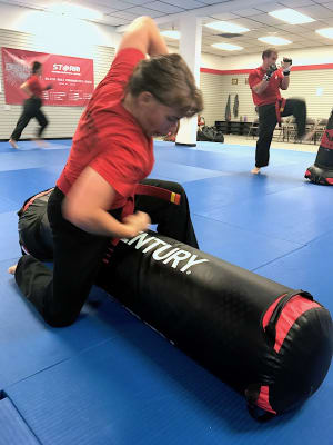 students in womens self defense in Springfield - Storm MMA