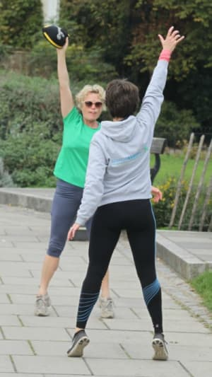 students in personal training in Hammersmith - Bianca Sainty Personal Training