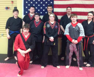 students in teen and adult martial arts  in Whitman - The TAMA Dojo