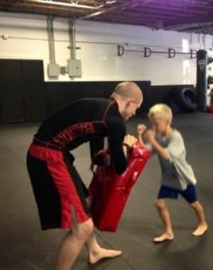 students in kids martial arts  in Toledo - BADDOG Sports Performance/GFTeam Brazilian Jiu Jitsu